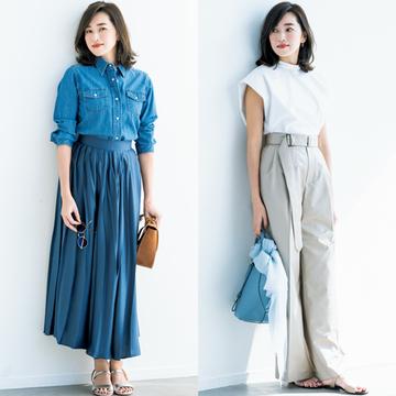 モデル・仁香さんがお手本!「上向きボブ」で春のトレンド服をスタイルアップ