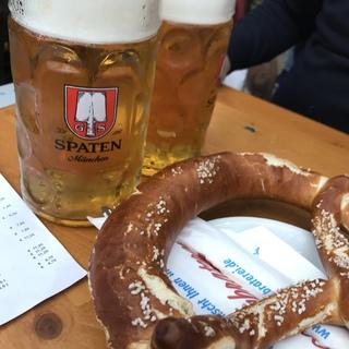 ミュンヘンでビールを飲む‼️