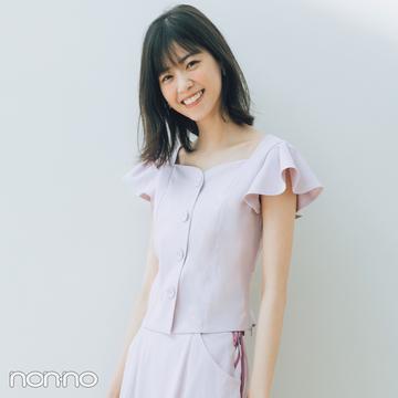 西野七瀬のセットアップで着回しコーデ1×7♡ 淡いピンクはきれいめ派に必須!