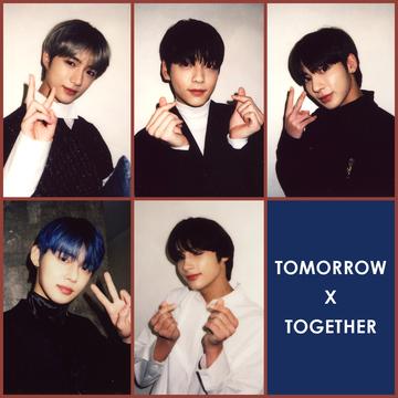 TOMORROW X TOGETHER メンバーが撮影したオフショを公開!