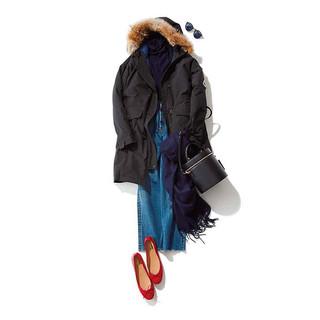 ダウンコートのおすすめコーデ&着こなしアイディア