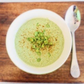 スーパー野菜、いんげんの豆乳ポタージュスープレシピ