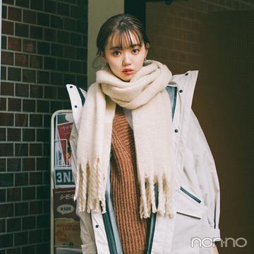 江野沢愛美の冬私服♡ 女のコ感を取り入れたカジュアルコーデのお手本!