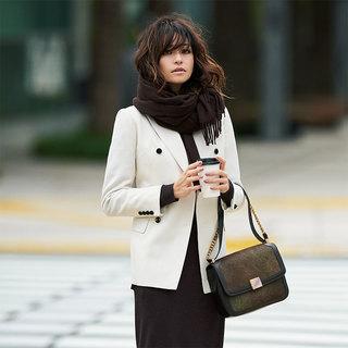 冬の着こなしが女っぽく艶めく「きれいめ白」アイテム4選