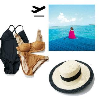 極上のビーチバカンスで空と海に癒されリフレッシュ【おしゃれプロの旅支度】