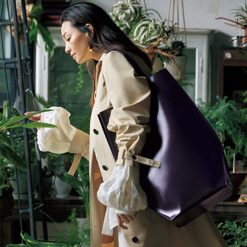 ジルサンダー「EDO TOTE」はまるで立体アートのよう!【荷物まとめる派の「大きめバッグ」】