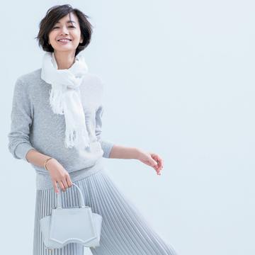 「塩系ワントーン」で、シンプルきれいな大人の着こなしを満喫 五選
