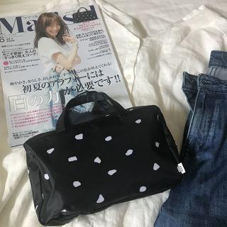 マリソル6月号【特別付録】マルティニーク トラベルコスメminiバッグが凄いです♡