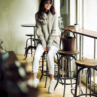ファッションエディター・磯部安伽さんのデニムスタイル