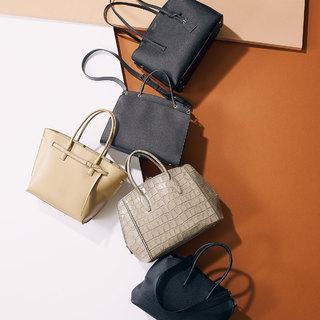 【マチ広めA4派】見た目はコンパクトなのに大容量。働くアラフォーのためのバッグ
