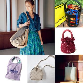 【40代におすすめの夏バッグ】コーデにメリハリを出す2021夏のトレンドバッグとは?|アラフォーファッション