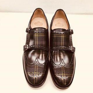 よく見るとチェック!な秋の靴