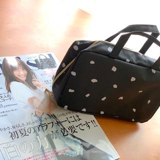 マルティニーク・トラベルコスメminiバッグは大人女子好み♡