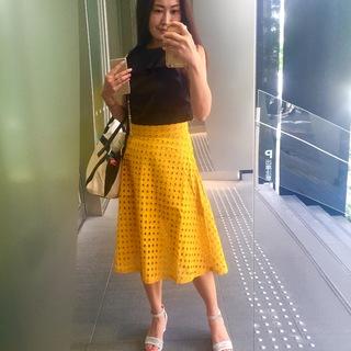 褒められアイテム、幸せを呼ぶ?黄色のスカート