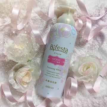 """【 第31回❤︎ 】まるでホイップクリーム!濃密泡の""""Bifesta"""" 炭酸泡洗顔*"""