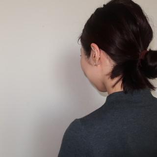 不器用でも3分で完成!「魔法のヘアピン」で無造作風まとめ髪。_1_2