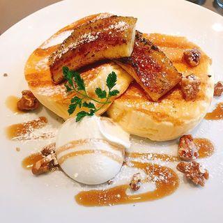何度でも食べたくなる!清澄白河「イキ エスプレッソ」のリコッタチーズパンケーキ