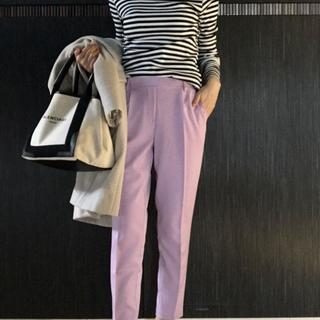 美脚パンツがまさかの¥2000以下!挑戦カラーはプチプラで取り入れます