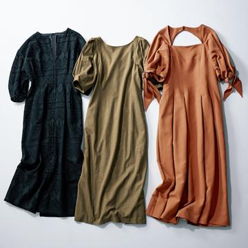 【オンラインで買いたいお値段以上服】女性らしくてラクチンなヴェルメイユ パー イエナのワンピース