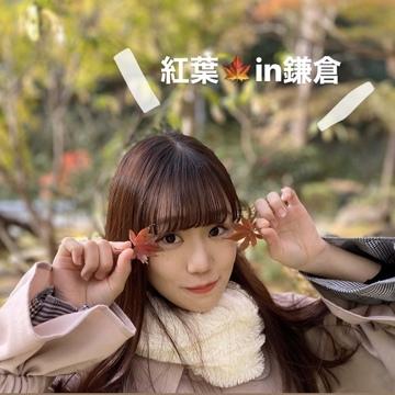 紅葉が綺麗な鎌倉へ…☺︎