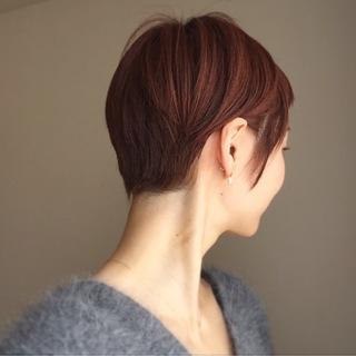 アラフォー的⁈ショートヘアスタイル