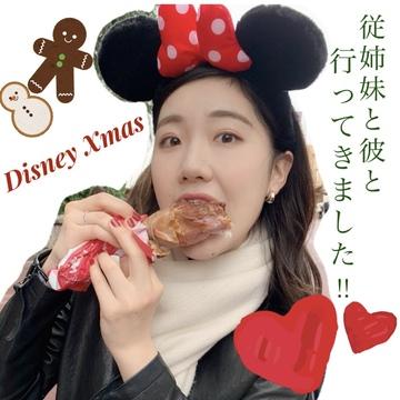 【ディズニー】クリスマスは美味しい可愛い!