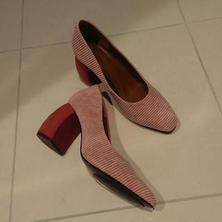 足元の秋支度。~thYmeの靴でパープルを~_1_2-1