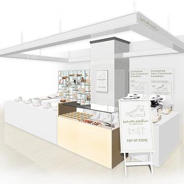 マイコンバースが作れる!「White atelier BY CONVERSE」期間限定ストアが横浜・大阪・京都・福岡にオープン!