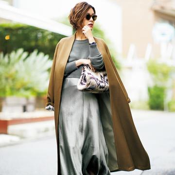 <スカート+ブーツ編>すぐに使える冬のスタイリング作戦【大草直子さんの最新ファッション戦略】
