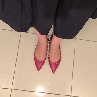 アラフォーの若々しさの秘訣は、フラット靴!!