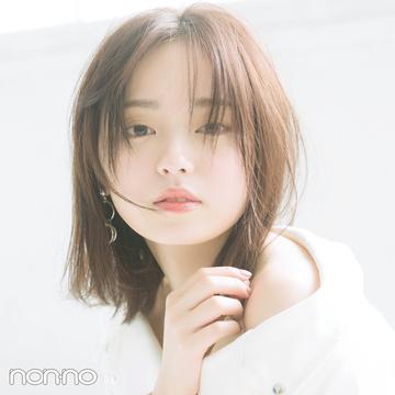 今泉佑唯さんの「のばしかけ前髪」アレンジ♡ スタイリングだけで大人っぽく!