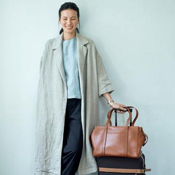 風呂敷や布ポーチを活用。愛車に乗って、日本文化を取材する旅【スーツケースの中身】