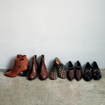 足もと変わればすべてが変わる。靴はおしゃれのセンターです! 五選