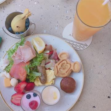 【アウラニ❤︎】朝ごはんを食べながらキャラクターグリーティング!?_1_4