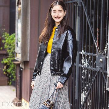 新木優子は黒の天才★真冬の私服コーデをチェック!【モデルの私服】