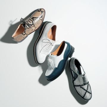 4. 遊び心をアピールする「小粋トラッド靴」カタログ