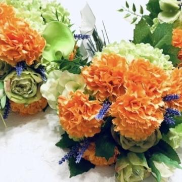 母の日の花束♪