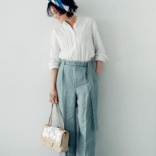 """ALL私物!モデル・渡辺佳子さんが""""この夏に買ってよかった""""アイテム&お気に入りコーデ"""