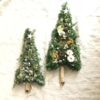 今年はクリスマスはツリー型タペストリーで♪
