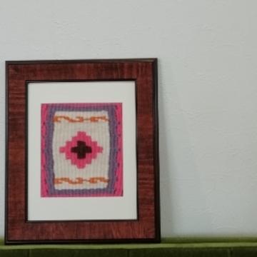 手織りのキリム、完成しました