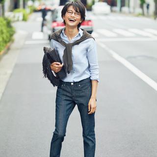 真夏も女っぽく!「新定番デニム4本」の着回しコーデ!