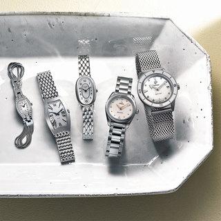 コストパフォーマンスも優秀!しなやかに腕に沿うブレスレットタイプの時計