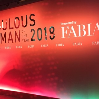FABULOUS WOMAN OF THE YEAR 2018 by FABIAレポ