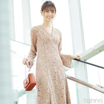 西野七瀬はレースワンピでスペシャル感たっぷりの春を満喫♡ 【毎日コーデ】