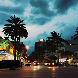 マイアミビーチって、こんなところ。