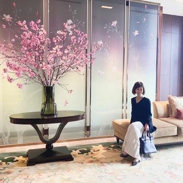 和の桜アフタヌーンティーへ