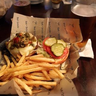シカゴのグルメは、ハンバーガー