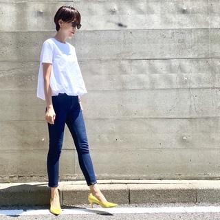 【ZARA】スタイルアップが叶うTシャツ