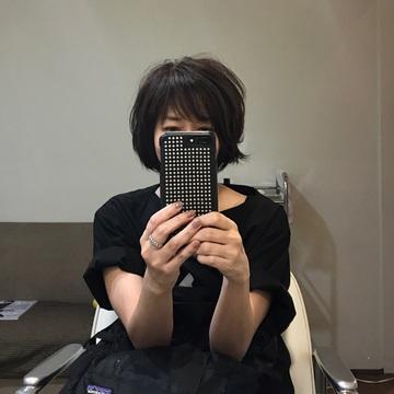 [富岡佳子private life]カット&カラー