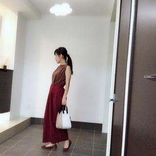 バッグも秋色に。ロエベのハンモックバッグに一目惚れ♡